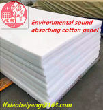 Fehlerfreier Beweis-Polyester-Faser-Baumwollpanel-akustischer Filz-akustische Zudecke