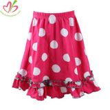 Los diseños de falda larga de algodón de pliegues faldas para niñas