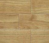 Piso de madeira maciça de pintura UV T&G (espécies de madeira: carvalho)