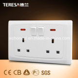 Switch Socket Funcional Socket 13A com Neon