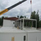 Maison modulaire portable en acier léger à usage multiple