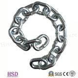 E. (DIN763/DIN764/DIN766) catena a maglia galvanizzata di DIN5685A/C per il sollevamento del Riggigging