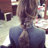 I capelli pettinano Headwear fatto della lega di pezzo fuso in oro/argento