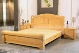 Festes hölzernes Bett-moderne doppelte Betten (M-X2288)