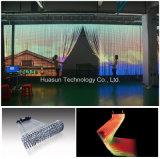 유연한 LED는 Windows LED 영상 벽을%s 커튼을 분리한다