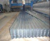 Strato all'ingrosso del tetto del materiale da costruzione/strato ondulato galvanizzato dell'onda