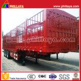 Tri assi 40 tonnellate - 60 tonnellate del telaio di Gooseneck di tipo basso del palo rimorchio della rete fissa del camion semi