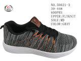 3 ботинка спорта женщин Knit мухы цвета