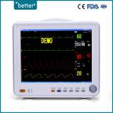Video paziente 8000c di multi parametri portatili delle attrezzature mediche