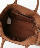 2016 Tote Handbags 새로운 디자이너 형식 분홍색 PU 숙녀