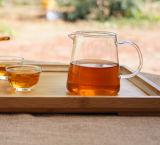 Cuvette de thé élevée de Pyrex de générateur de thé en verre de Borosilicate de jeu de thé de cadeau