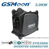Стандартный генератор инвертора газолина 3000W AC однофазный с ключевым стартером