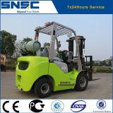Carretilla elevadora verde de China Snsc 2.5ton LPG para la venta