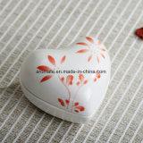 Inner-geformter keramischer Schmucksache-Ablagekasten (CC-03)