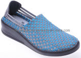 2012 Mesdames Trendy Casual chaussures à semelle PU