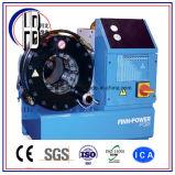 Potência do Finn P20 máquina de friso da mangueira hidráulica de 2 polegadas