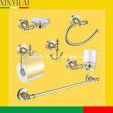 Роскошное вспомогательное оборудование ванной комнаты крома золота установленное с 6PCS