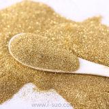 Colore preciso dell'oro della polvere di scintillio di taglio