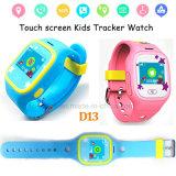 le '' écran tactile 1.0 badine la montre de traqueur de GPS avec le bouton de SOS (D13)