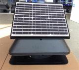 Ventilador de escape de energía solar 30W solar ajustable para techo con lámina de ventilador de 14 pulgadas (SN2014008)