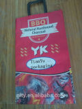 Saco de papel Kraft para el carbón de leña natural clásico, 8 libras