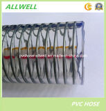 Tuyau de l'eau de compensation de boucle de spirale de fil d'acier de PVC