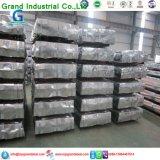 Galvanizado SGCC Hoja de techos de cartón ondulado
