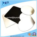 Estilo de forma em forma de coração tapete do mouse (placa)