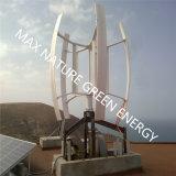 Kit entero vertical del generador de viento del tejado (inversor, regulador, torre)