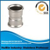 Soporte 201 del OEM instalación de tuberías inconsútil de acero inoxidable de Inox del codo de la autógena de tope del acero inoxidable 202 304 316