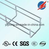 Bandeja de cabos de malha de galvanização elétrica com ISO / CE