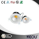 ÉPI LED Downlight de la taille 70mm 5W Dimmable de trou d'UL de SAA