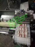 Máquina automática do Skewer da carne, esfera de carne que Skewering a máquina