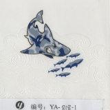 Película de mergulho da impressão de transferência da água da película dos desenhos animados geométricos da largura de Yingcai 0.5m hidro