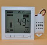 Temperatura de la incubadora digital y controlador de humedad con profesionales
