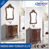 Напольные деревянные шкафы с раковиной в ванной комнате наружного зеркала заднего вида