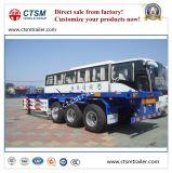 半ユーティリティ40FT容器の骨組トラックのトレーラー