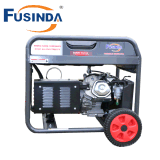 Preço pequeno Home do gerador da gasolina do uso 5000W com Recoil/começo elétrico