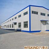 Il basso costo ha prefabbricato il magazzino dell'acciaio della tettoia del fabbricato industriale della struttura d'acciaio