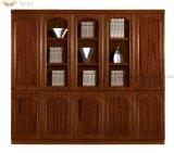 Cabinet de fichiers de bibliothèque d'étagères en bois (HY-C904L)