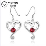 European Design High Quality Ruby Stone Earring