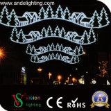 Lumières extérieures de décoration d'horizons de vacances de la décoration DEL de Noël de rue