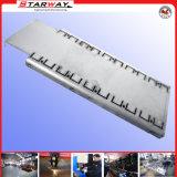 Metal que carimba a parte pela estaca do CNC