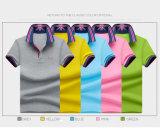 Massengroßhandels-Polo-Hemd der Kleidungs-Stickerei-60%Cotton+40%Polyester 180GSM