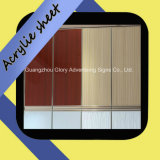 Colored estruso 1mm Acrylic Sheets per Cabinet