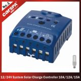 12/24V Auto。 DC Loads Functionの検出10A/12A/15A Solar Charge Controller