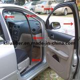 Temperture calor e resistência química a vedação de borracha da porta automática