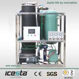 Icesta 3000kgs tubo refrigerado por aire Ice maker