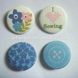 Завод текстильного значок кнопки для поощрения