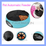 6-Meal Automatic Pet Feeder mit Voice Recorder u. LCD Display